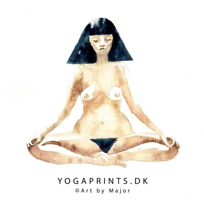 YOGA PRINTS – ART BY MAJOR